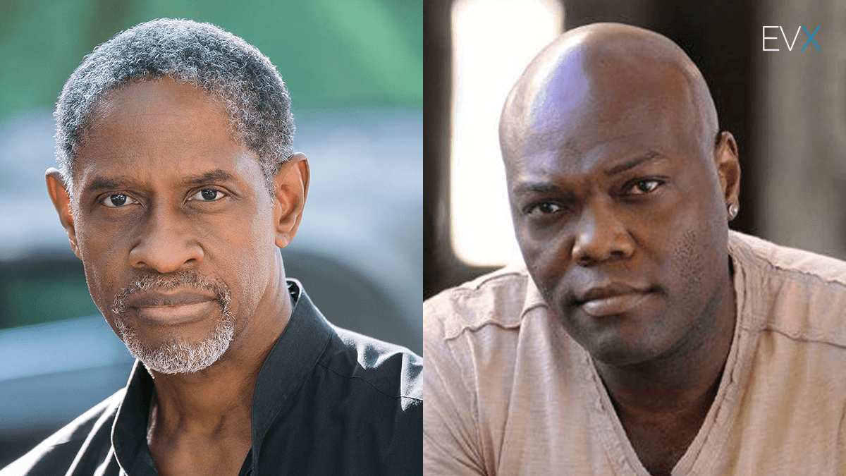 Tim Russ and Peter Macon